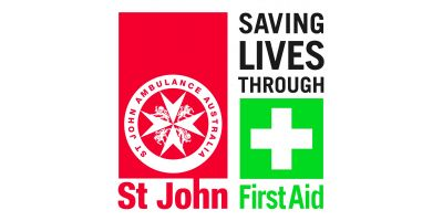 St John First Aid combined Logo Square cmyk hi res
