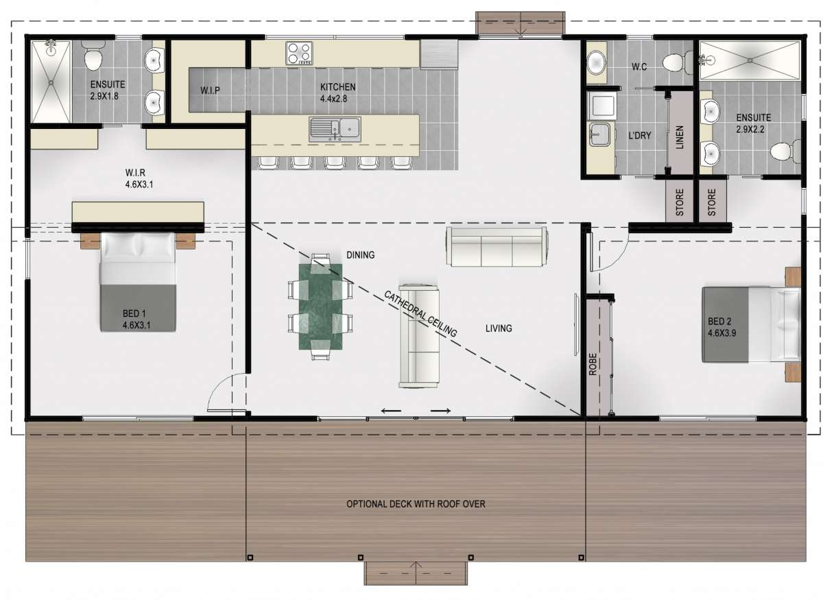 Braddon Floor Plan