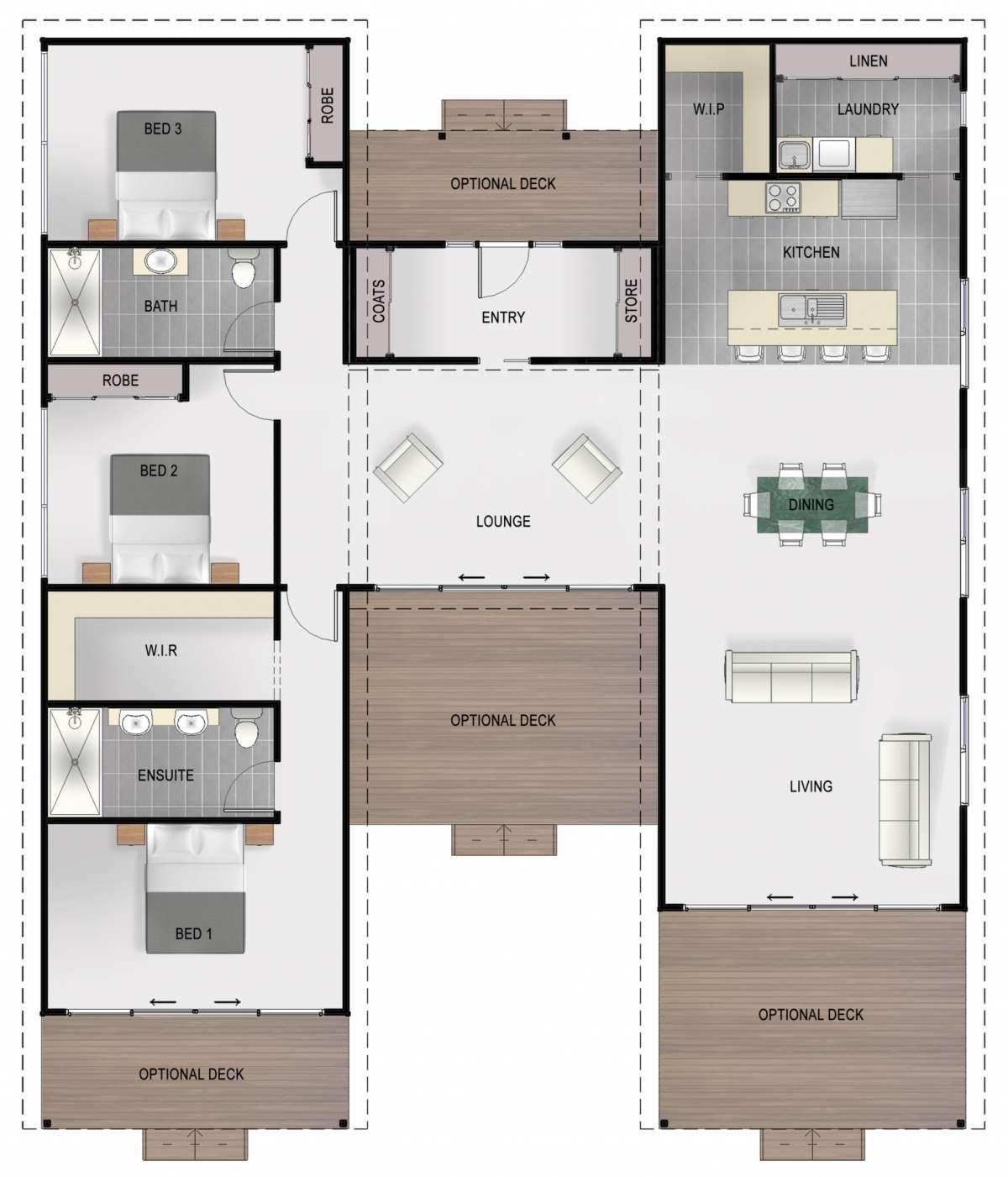 Flinders Floor Plan