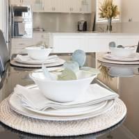 5 Dining dinner bowl salad plates