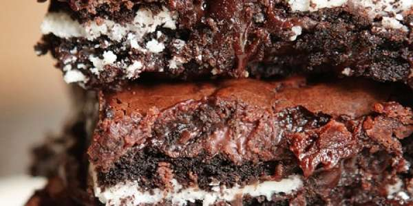 Oreo Fudge Brownies