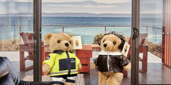 Tasbuilt welcomes Doctor Bear Ruth and Pilot Bear Henry to the team!