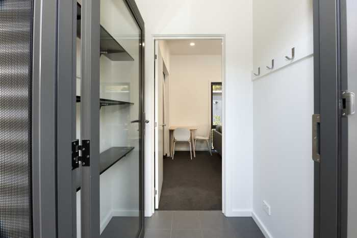 Entry of transportable accomodation unit in Tasmania