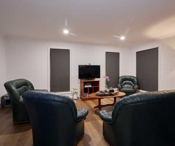 Formal loungeroom in new tasbuilt home