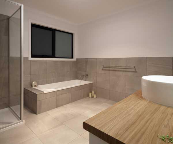 Modern bathroom in deloraine