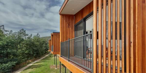 Product feature – vertical timber cladding