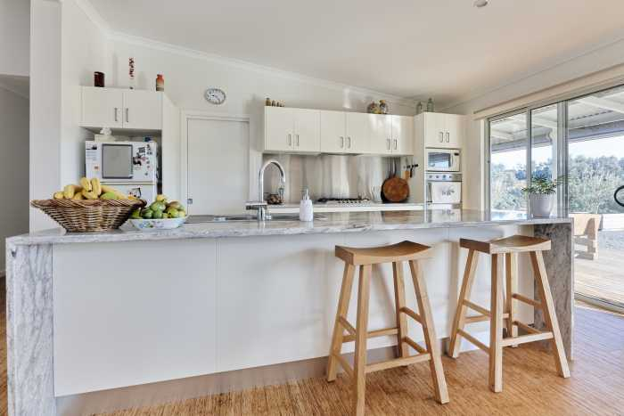 Island Bench with Waterfall Benchtop