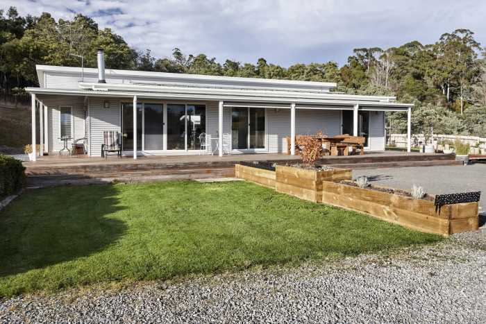 Modular Home with Decking