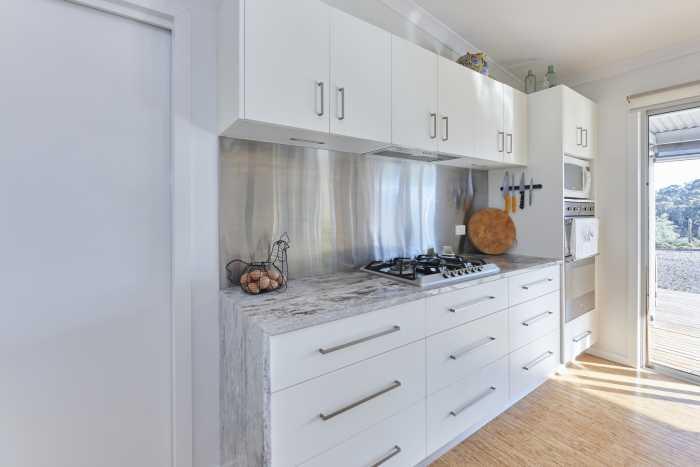 Open Plan Kitchen in Modular Home