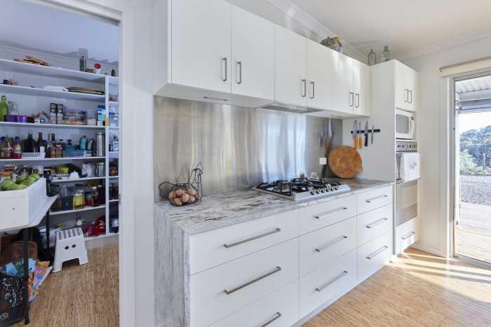 Walk in Pantry in Modular Kitchen