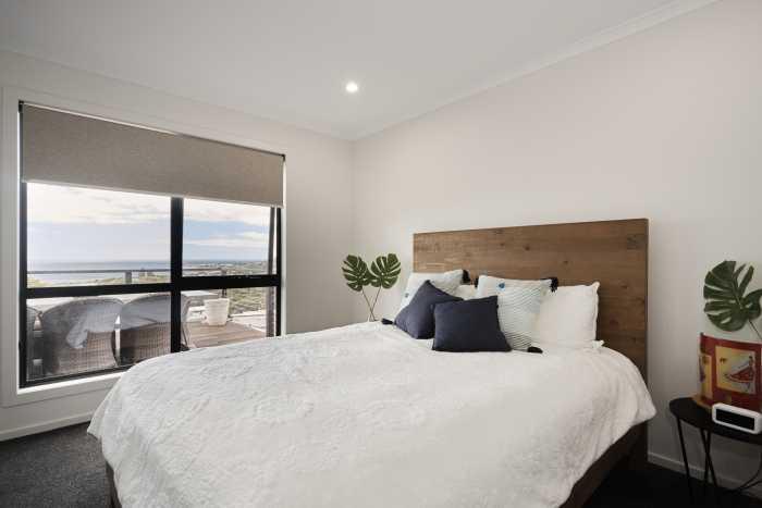 Beachside views from bedroom