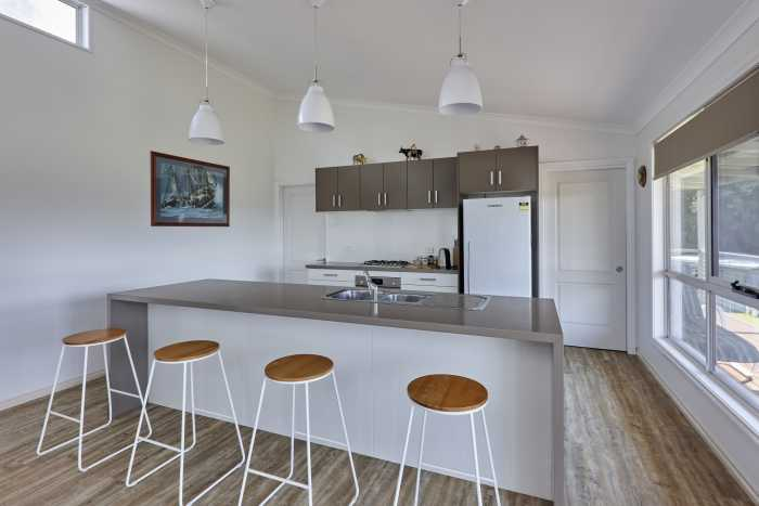 Open Plan Kitchen in Transportable Home