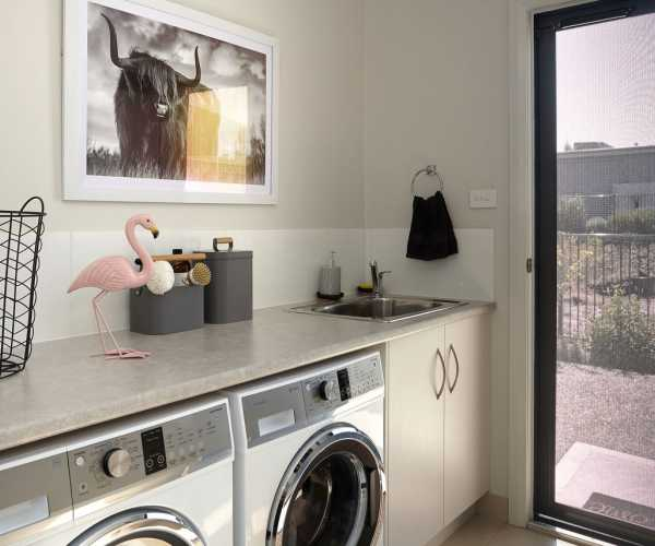 laundry fit out in Hobart Tas
