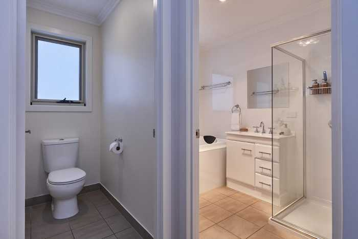 Separate toilet design Tasmania
