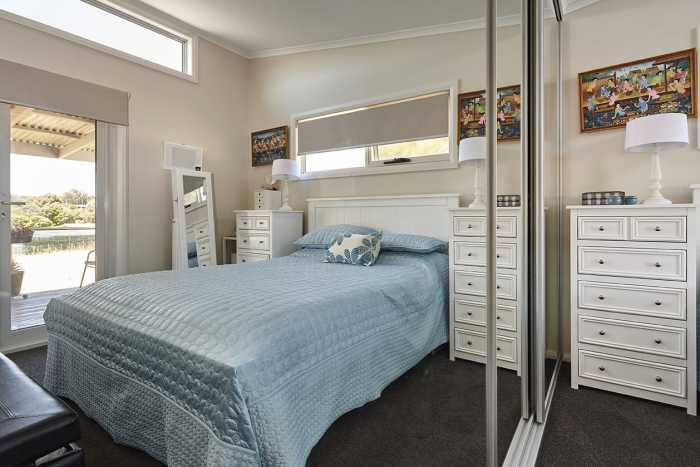 Bedroom in Tasbuilt Elliot design near Launceston