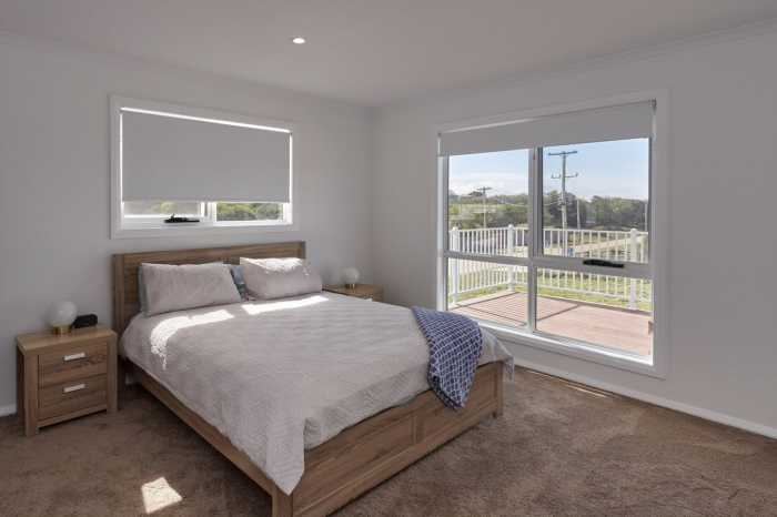 Master bedroom in Tasbuilt Blackman home