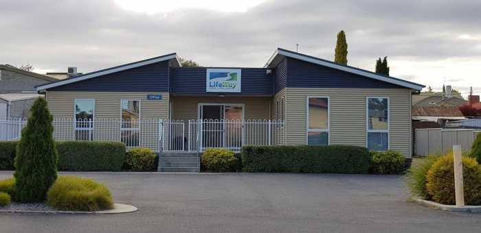 Prebuilt office in Devonport