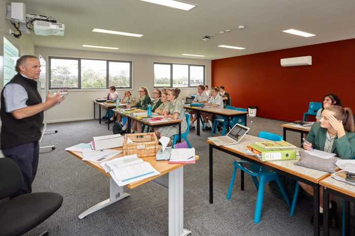 Prefab classrooms Launceston