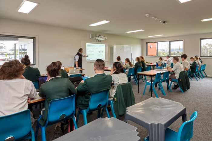 Prefab classrooms Tasmania