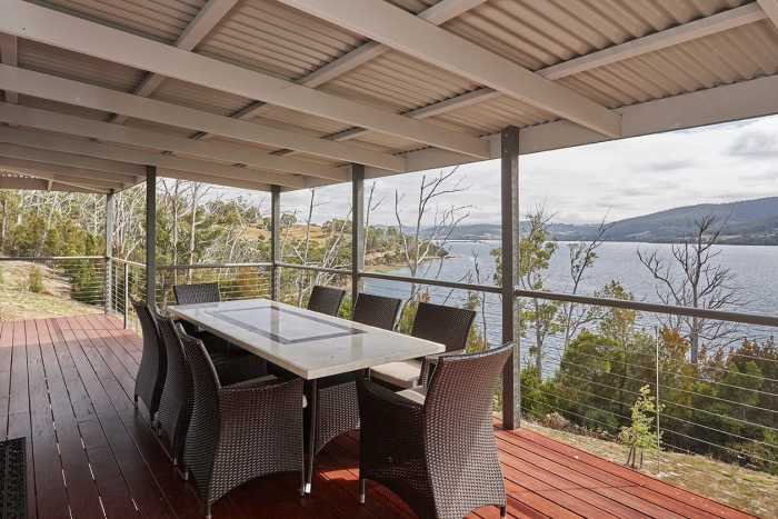 Alfresco dining ideas Hobart