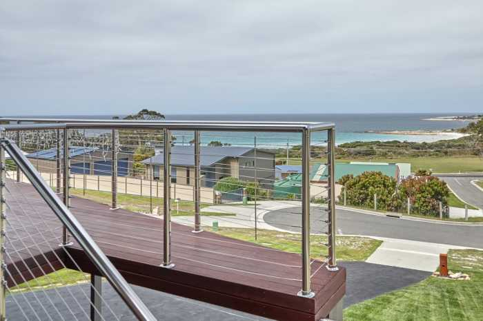 Bicheno deck with views