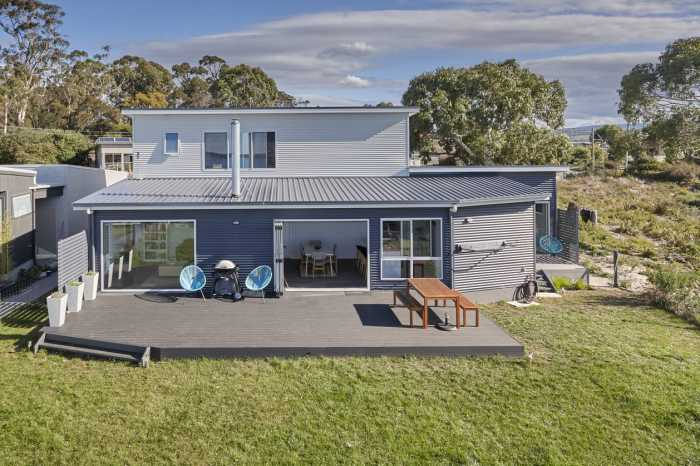 Double storey prebuilt home design tasmania