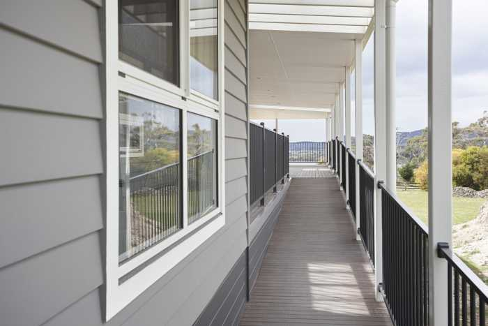 Timber Verandah at Clarence Point