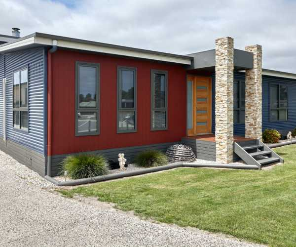 Contemporary coastal design Tasmania