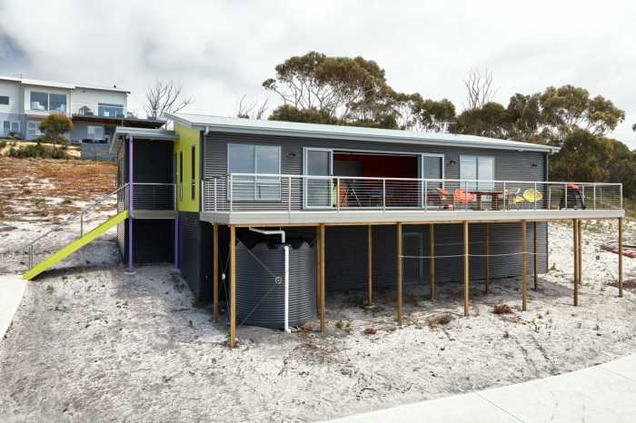 Beach home designs Tasmania