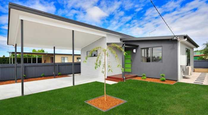 Modern small home design in Longford Tasmania