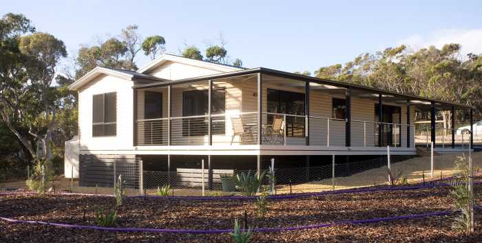 Prebuilt home in Greens Beach, Tasmania