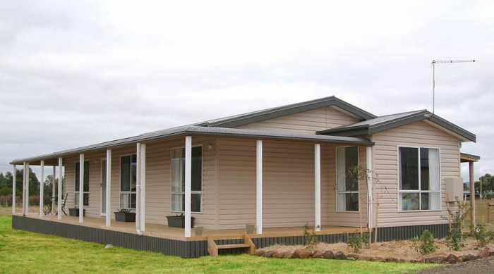 Tasbuilt transportable home in Westbury