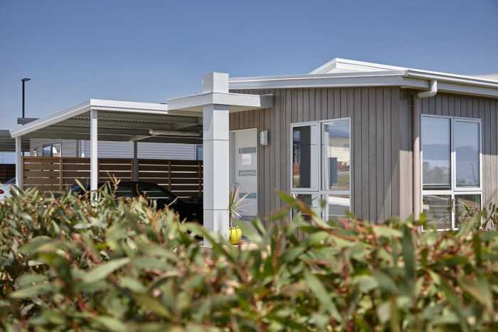 Tasmanian lifestyle village transportable home