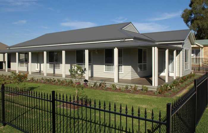 Wrap around verandah design
