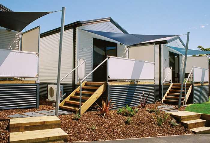 Bridport cabins by Tasbuilt