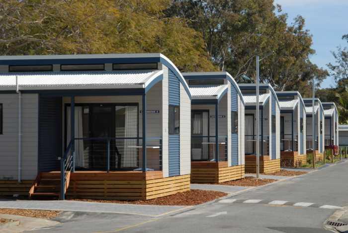 Modular holiday cabins