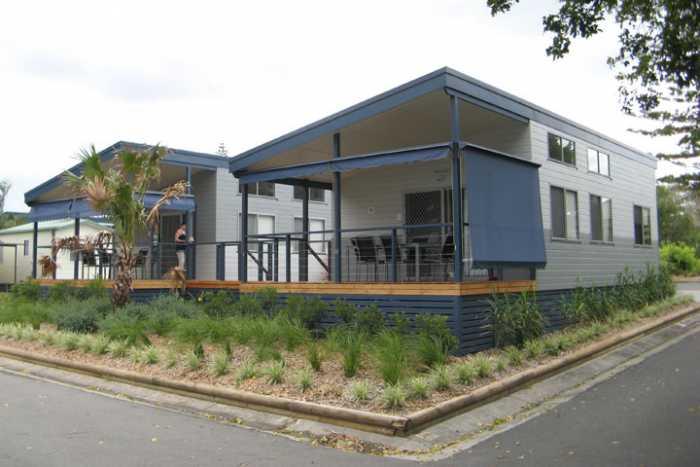 Skillion roof cabins tasmania