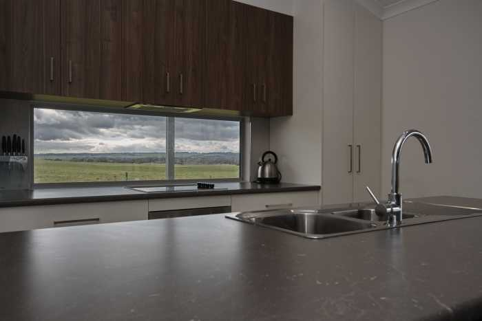 Window splash back with water views at Waterhouse