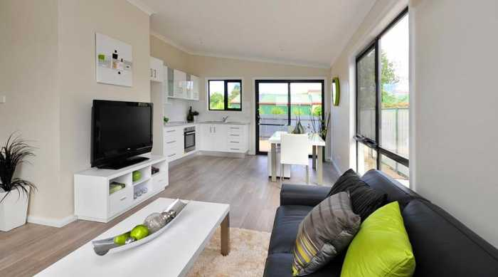 open living and kitchen in Longford
