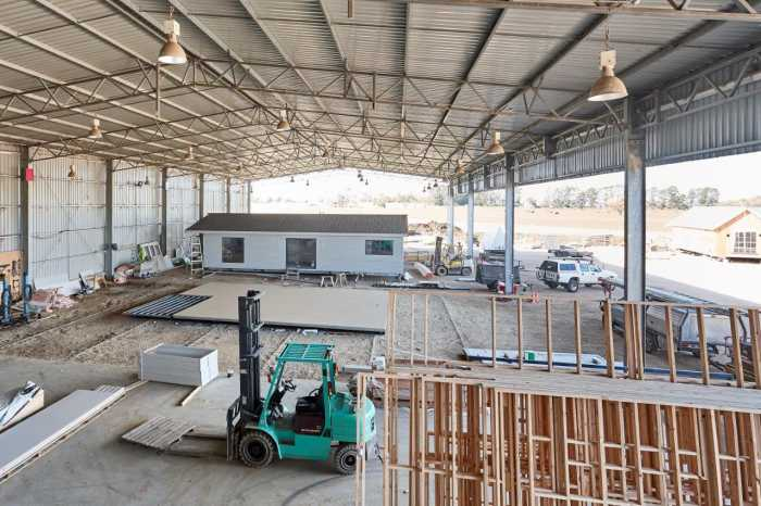 Tasbuilt modular home factory