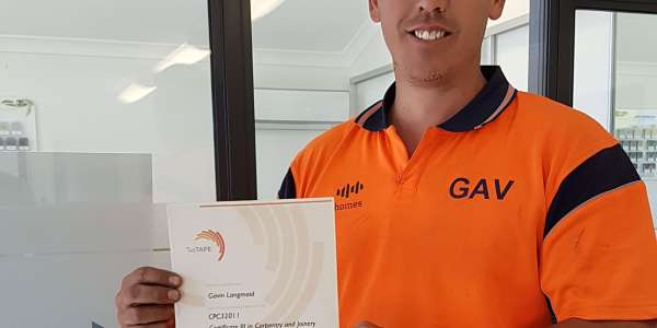 Another Qualified Carpenter For The Tasbuilt Team