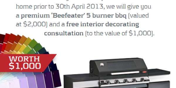 FREE BBQ offer ends soon.  Act now to secure this great promotion