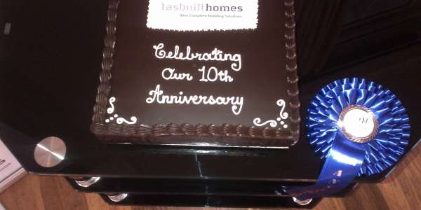 TASBUILT CELEBRATES 10TH ANNIVERSARY!