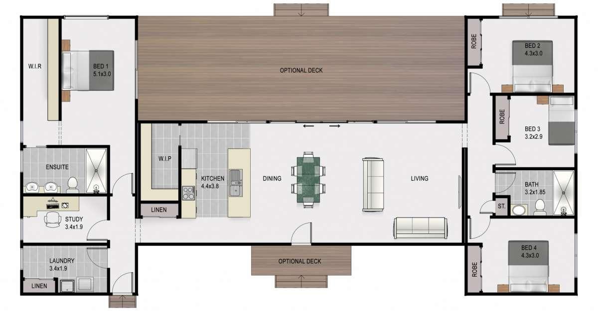 Apollo coloured floor plan