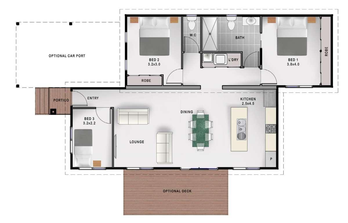 Stanfield floorplan