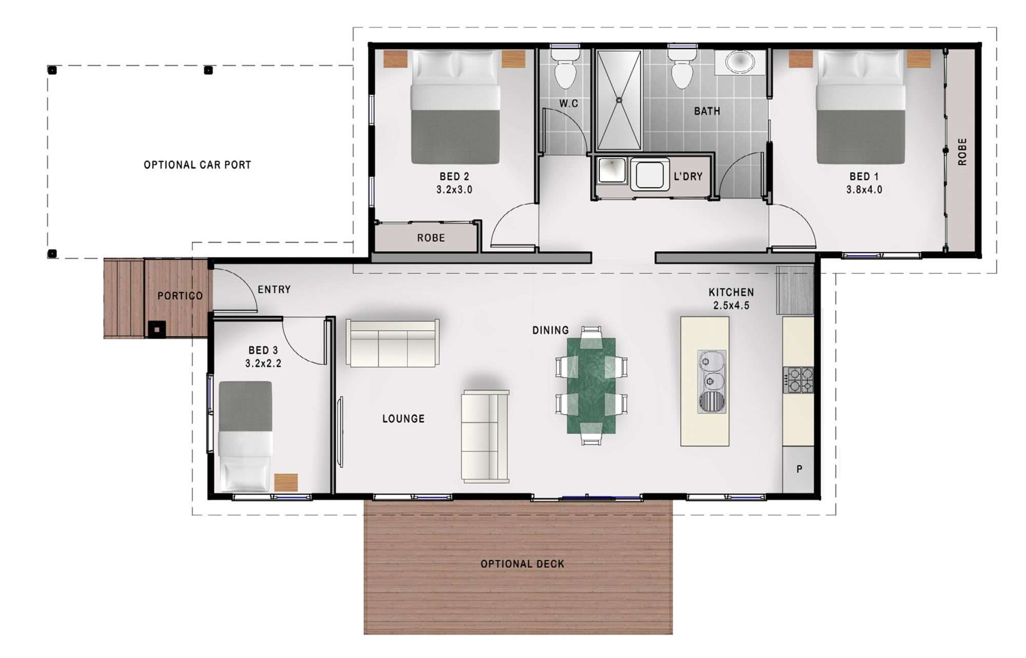 Stanfield floorplan