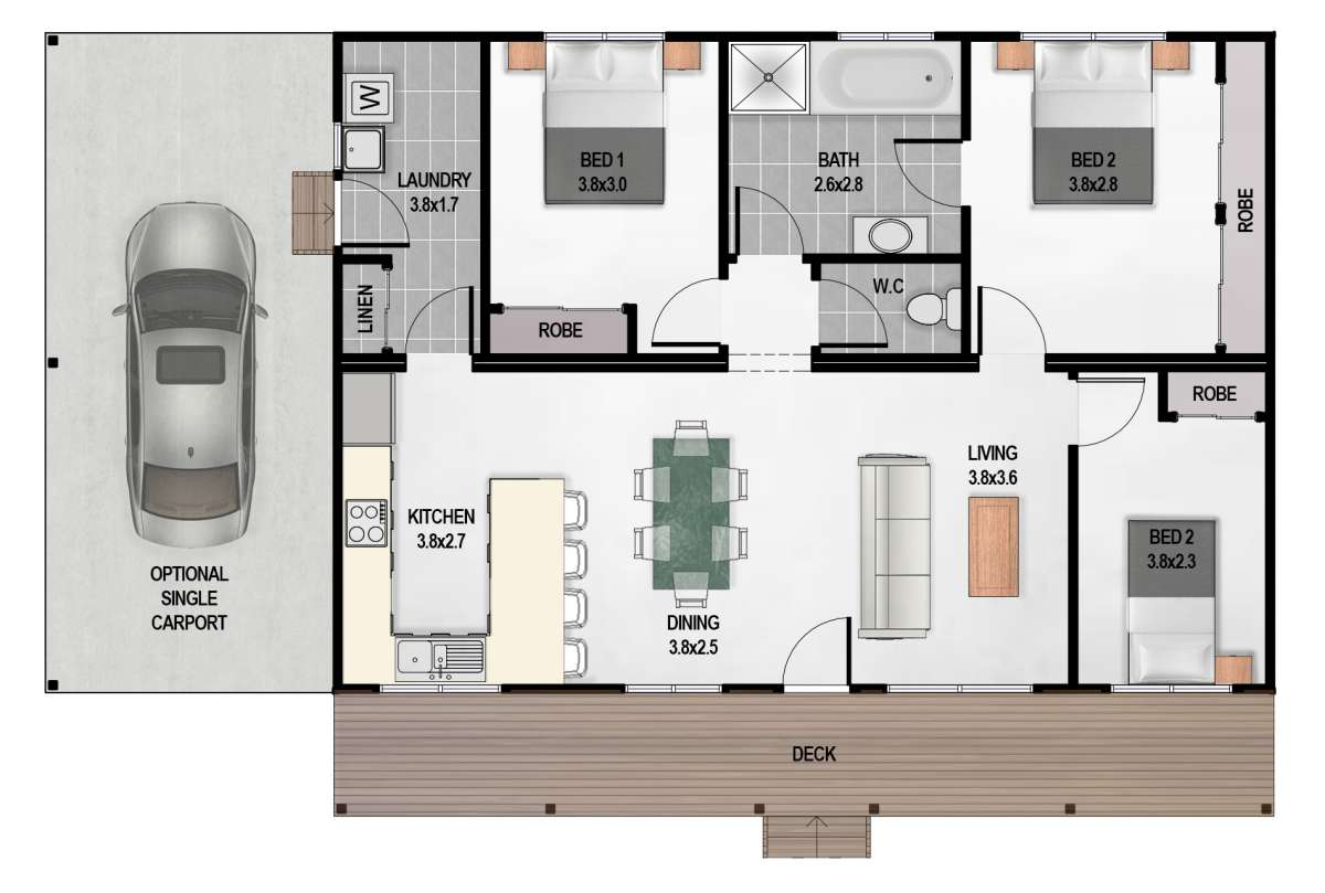 Anderson 8m coloured plan