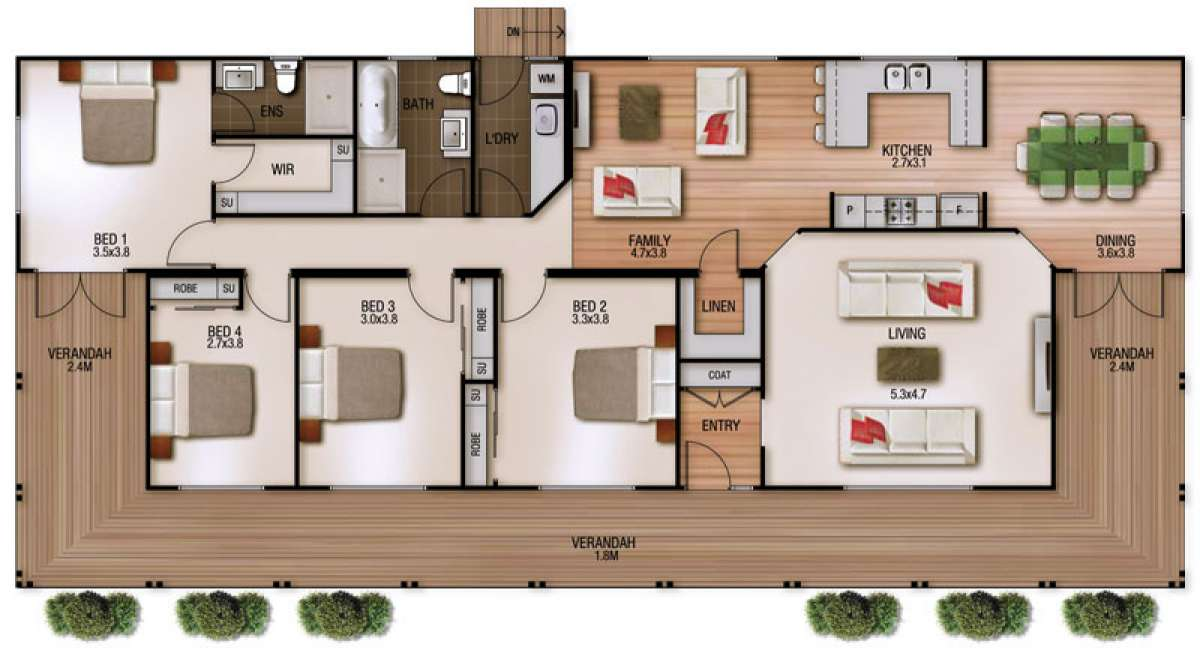 Ashmore Floor Plan