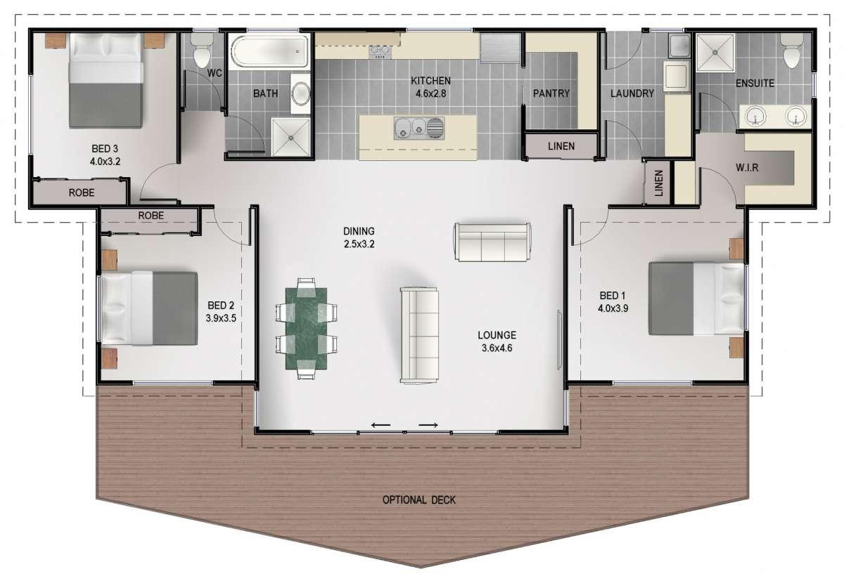 Blackman Floor Plan