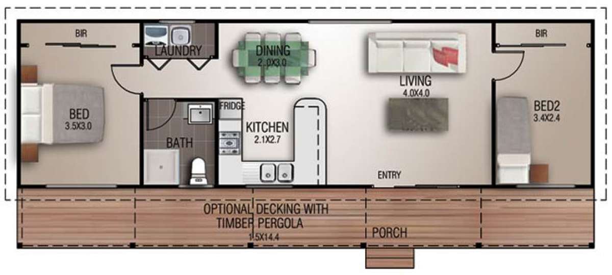 Elliot Floorplan